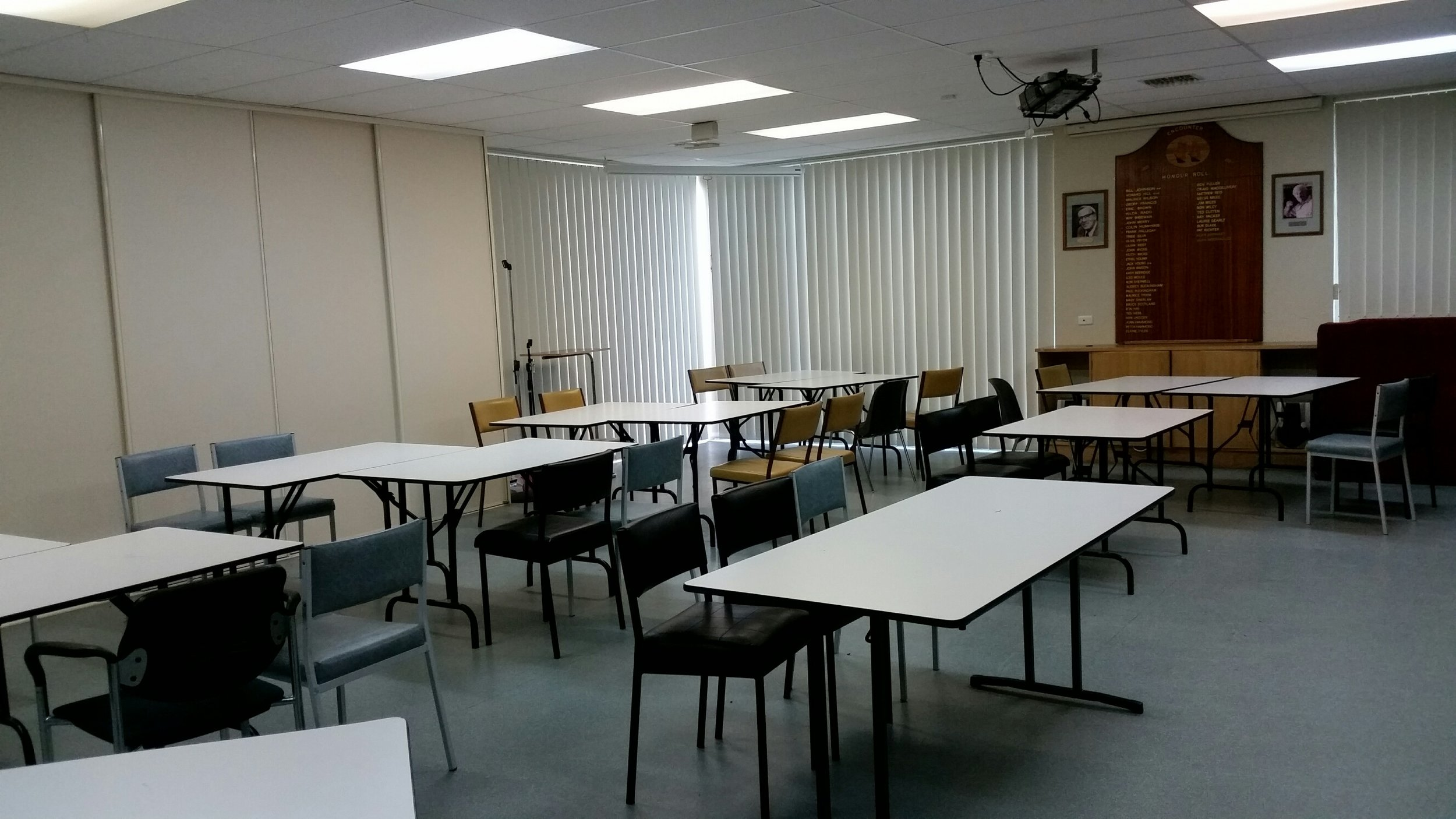 Conference Room with Projector
