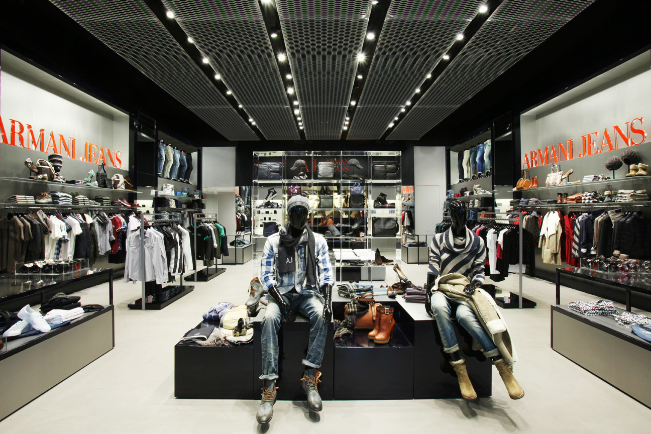 armani jeans store