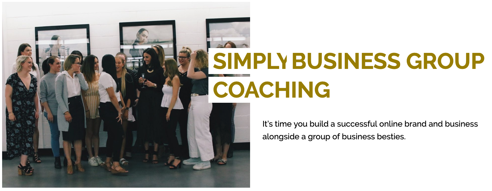 simply business group coaching
