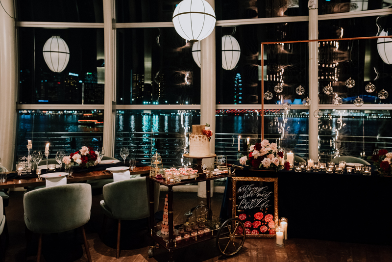 Wedding Styled Shoot at  MONTI  Venue and Floral Stylist:  Le Fairymeadow  | Calligraphy and Wedding Stationery:  Souldeelight  | Wedding Cake:  BabyCakes Singapore   Photographed By:  The Beautiful Moment Photography