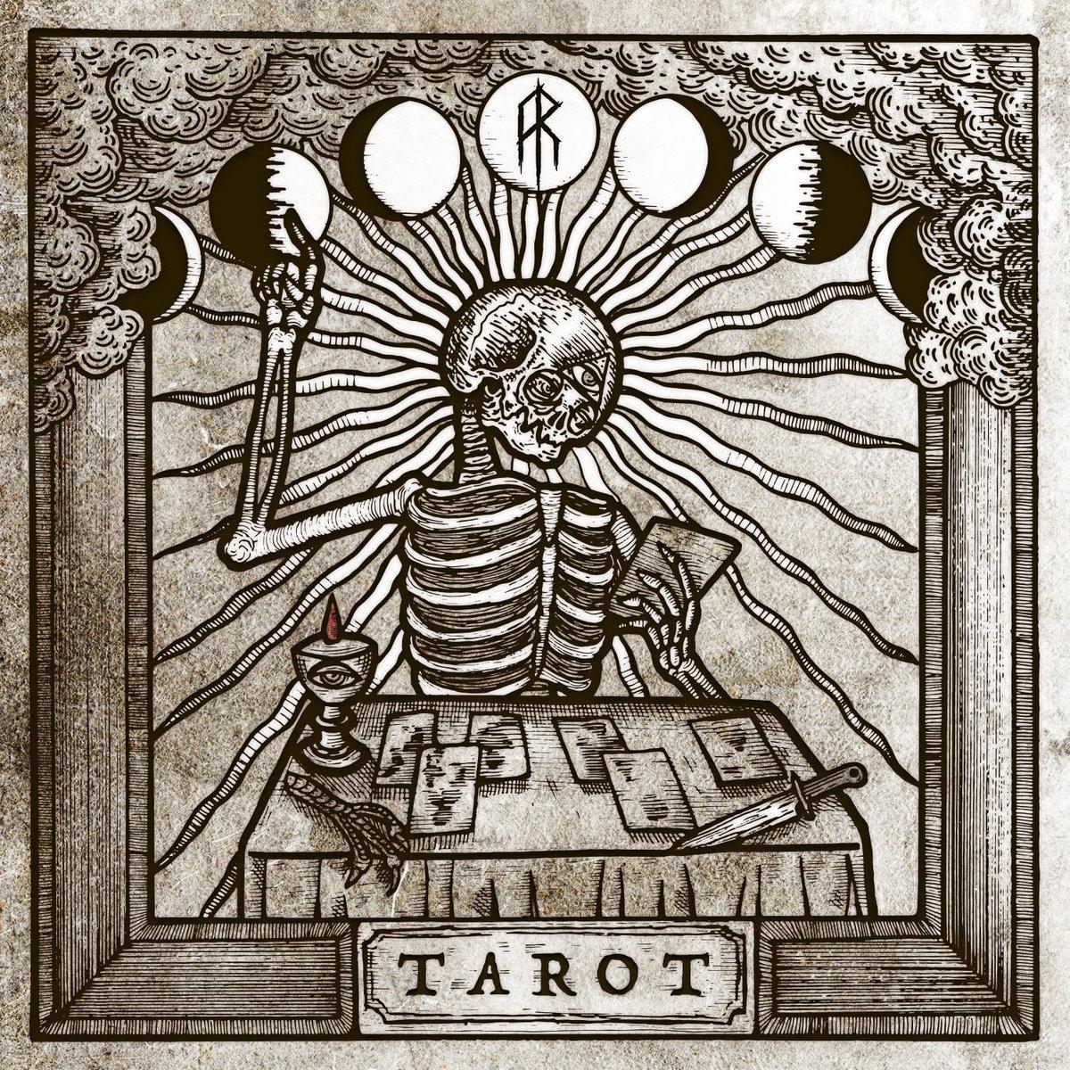 aether realm tarot album art by kola hari