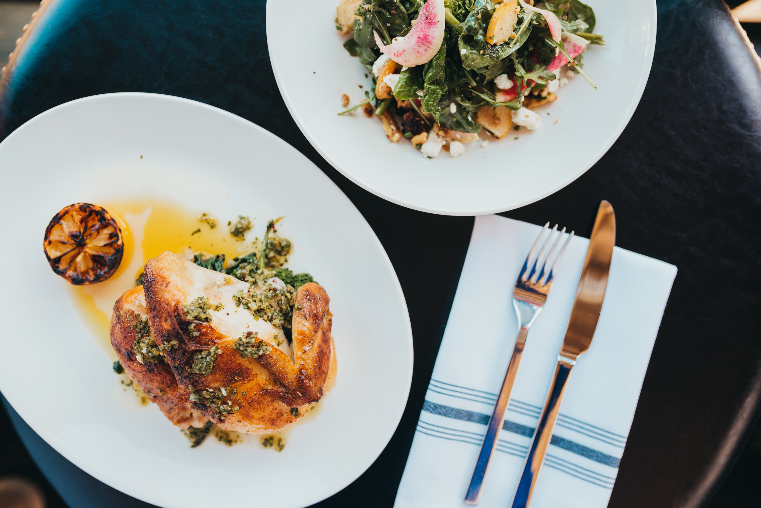 Modern London-inspired Eatery Downtown Sacramento, CA