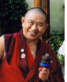 HIS EMINENCE GARCHEN RINPOCHE - His Eminence Garchen Rinpoche is a Drikung Kagyu lama who was known in the thirteenth century as the Siddha Gar Chodingpa, a heart disciple of Kyobpa Jigten Sumgon, founder of the Drikung Kagyu lineage of Tibetan Buddhism.