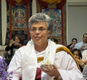 LOPON DORJE KHANDRO - Lopon Dorje Khandro (Dr. Lourdes Arguelles) was born in Cuba and educated around the world. She has been a Dharma practitioner for several decades having received refuge vows from the late HE The Third Jamgon Kongtrul Rinpoche .