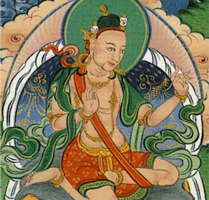 Tingdzin Zangpo was the first abbot of Samye Monastery and have been credited for suggesting the king to invite Padmasambhava to Tibet.