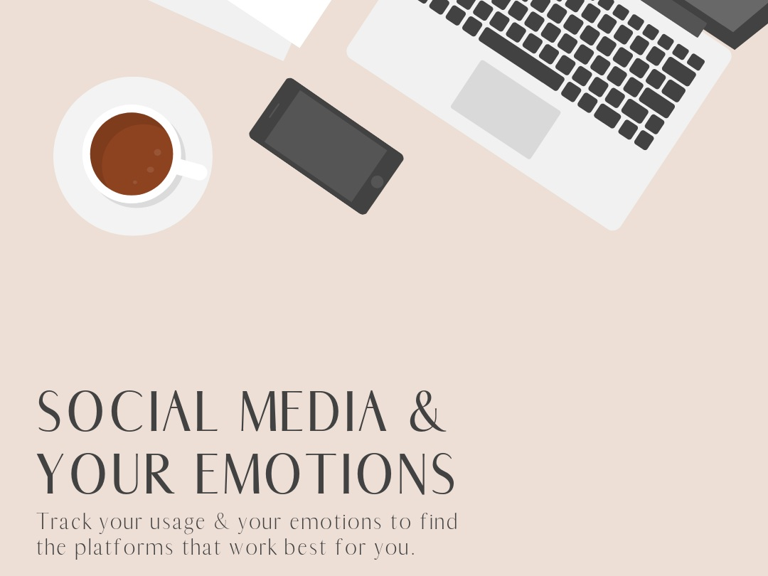 Emotion Tracking - Figure out what social media platforms make you feel like a hero rather than a zero. Download the free emotion tracker and take the 7 day challenge.