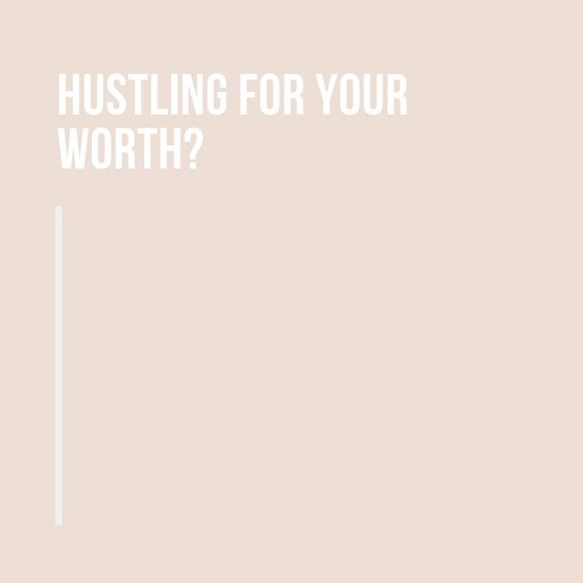 A friend mentioned this saying to me the other day and it struck so deep and so true.⠀⠀⠀⠀⠀⠀⠀⠀⠀ ⠀⠀⠀⠀⠀⠀⠀⠀⠀ How often is hustling for work really hustling for worth and what can we do to truly recognise that we are so much more than the jobs we have?