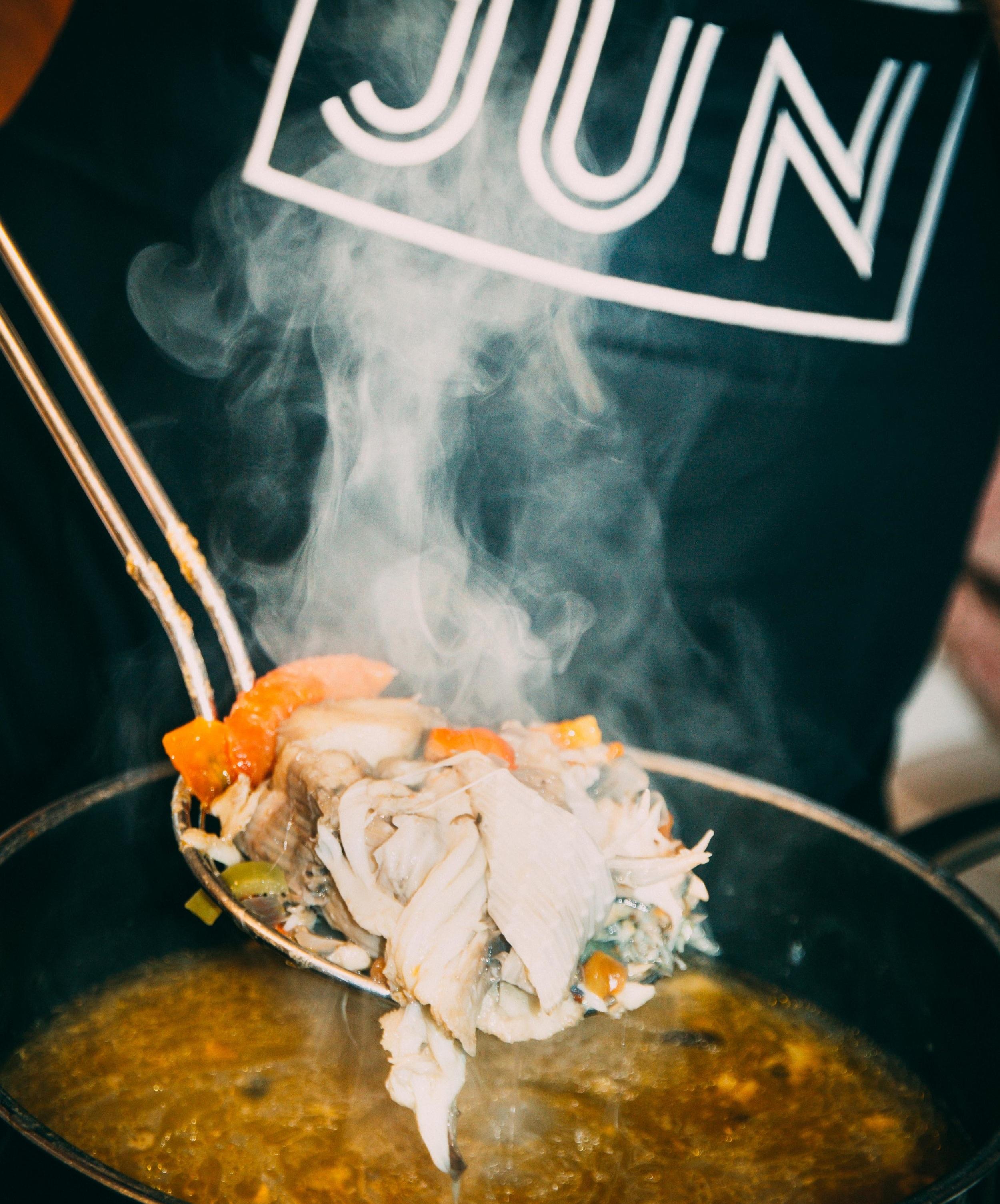 Fisch-Fond nach JUN's Hausrezept