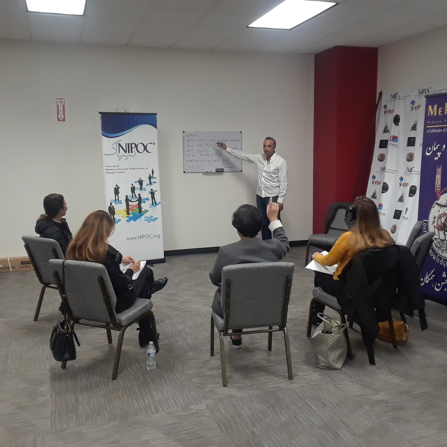 English & American Etiquette Class for Newcomers