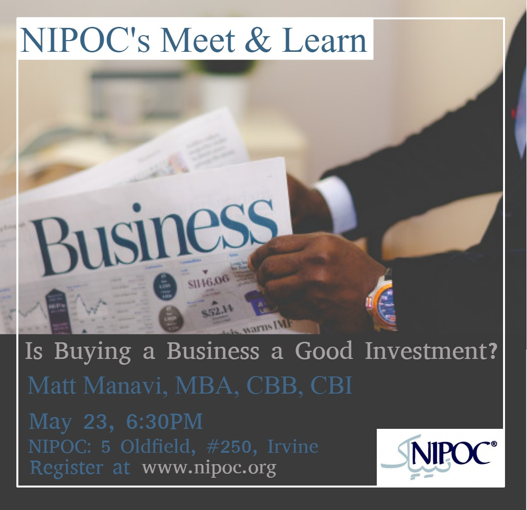 What are advantages of investing in a business?  What criteria would you use to purchase a business?  How would you price a business?  Where would you start your search?