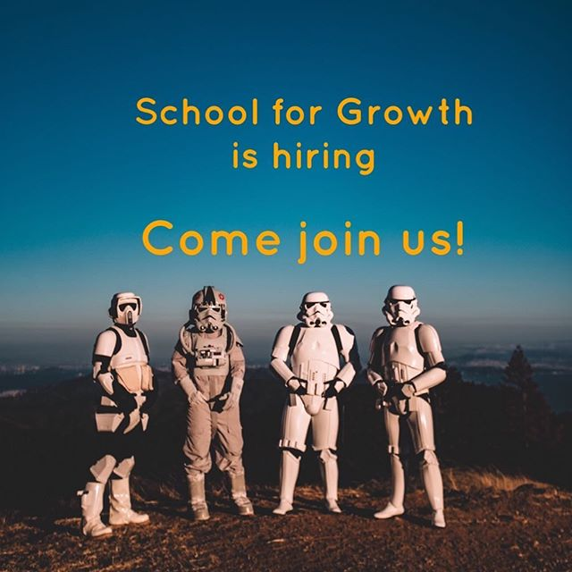 We are looking for Clinical Psychologist & Psychology Interns to join our team at @schoolforgrowth !  @schoolforgrowth is a fun, zero-waste-advocating organisation with a mission to make the world a better place by spreading the skills of psychological resilience.  Must be:  1) A self-starter passionate about personal growth 2) Able to work independently but also a great team place  3) A creative individual who enjoys thinking outside the box.  Send your CV to : hello@schoolforgrowth.org