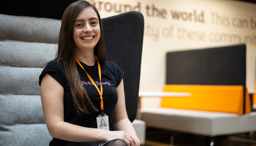 Natalie Wykes - Meet Natalie, one of a new breed of Information Security Tester's at Sainsbury's. See More >