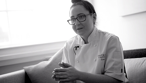 Zoe Simons - Zoe Simons shares how she found a career in food innovation. See More >
