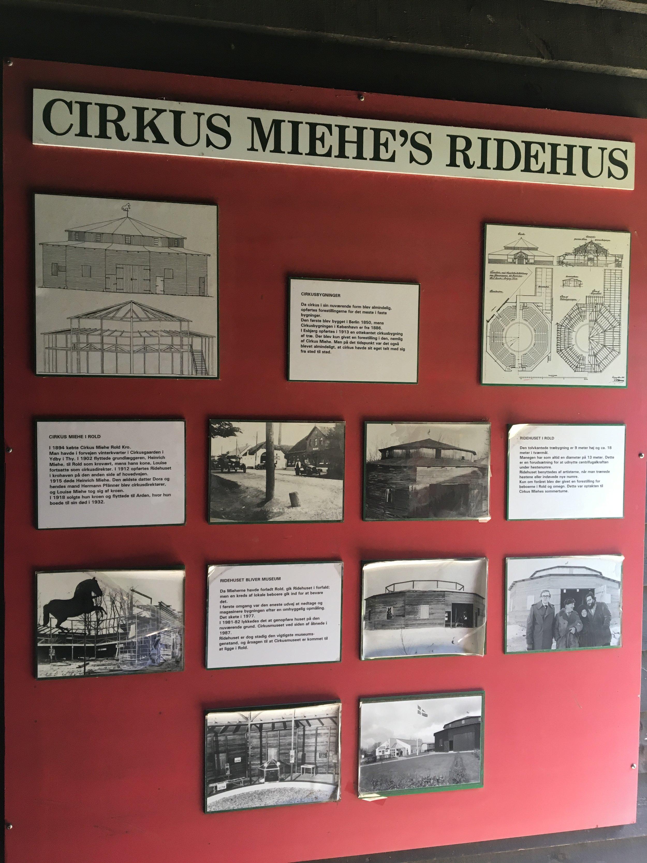 Fra cirkusmuseet i Rold. Bestemt et besøg værd.