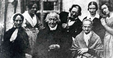 Allegedly the only photo of Constanze Mozart (left on the front) who, despite constant illness during her years with Mozart, lived to the admirable age of 80.