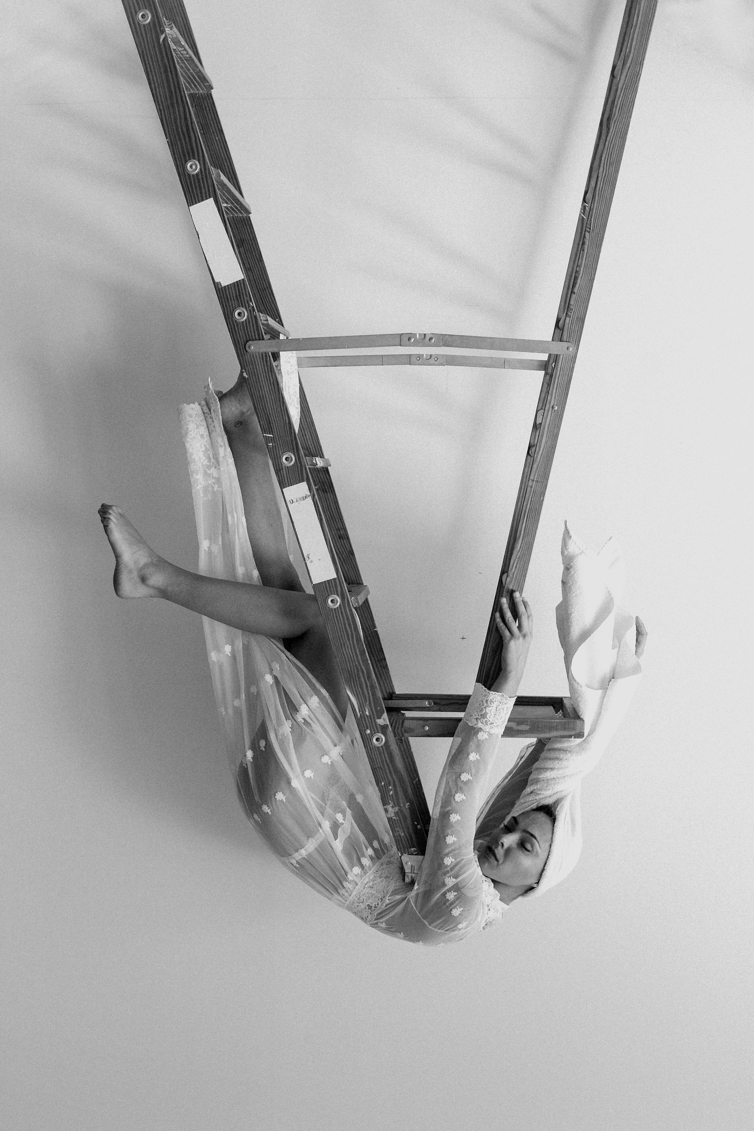 An Artist Irrepressible Altered Ego - A photostory piece by Garrick WongModel: Laurelei Overbeek