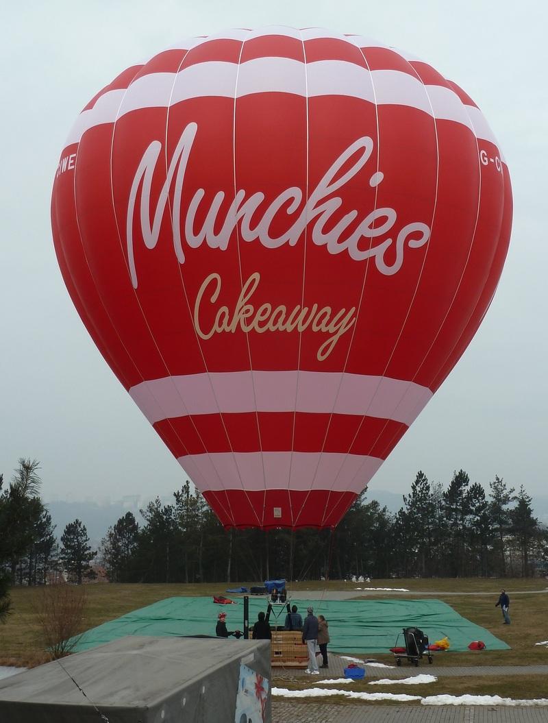 Munchies Balloon Advertising