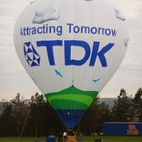 TDK Hot air Balloon advertising