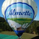 Advertising Hot air Balloon Almette