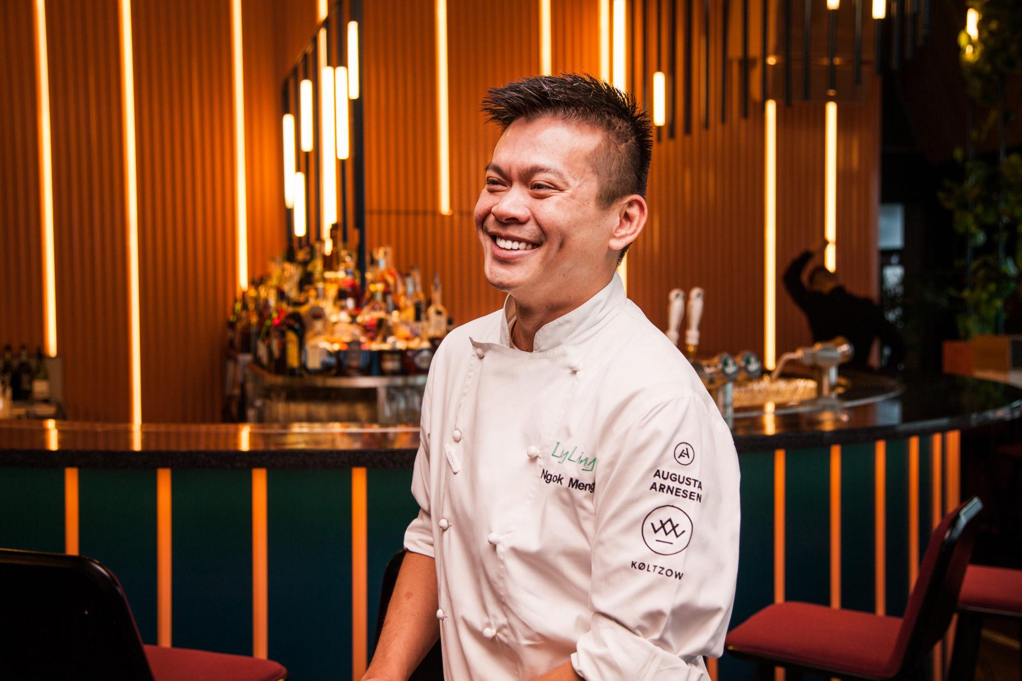 Chef Meng fra Singapore har over 20 års erfaring fra det kinesiske kjøkkenet.  Credits: Npro