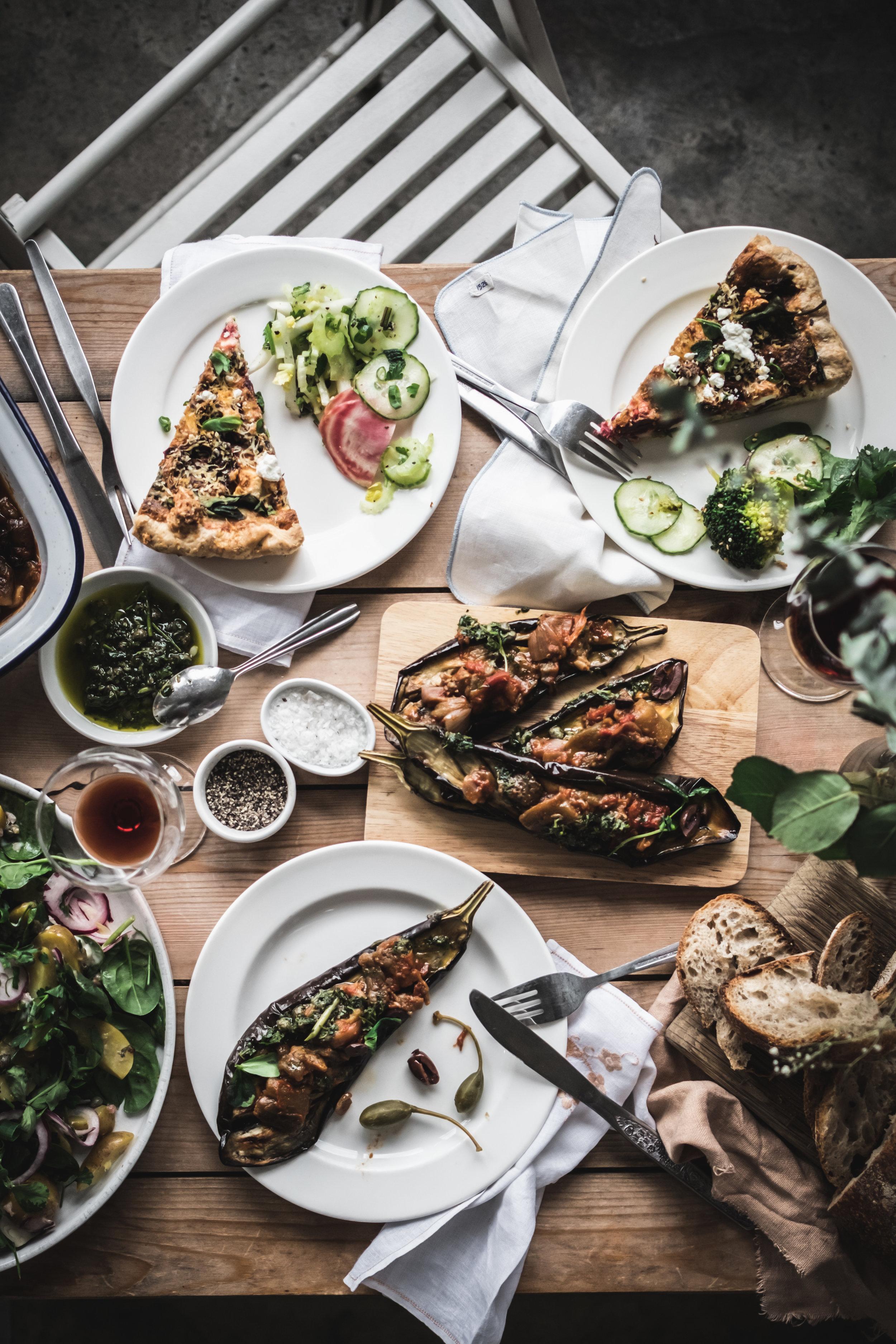 vegetarian gathering