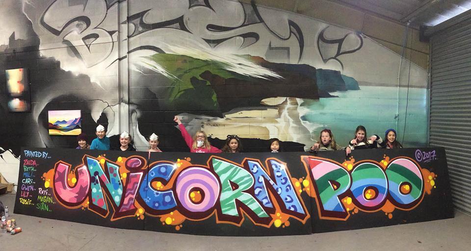Graffiti Birthday Party Cardiff
