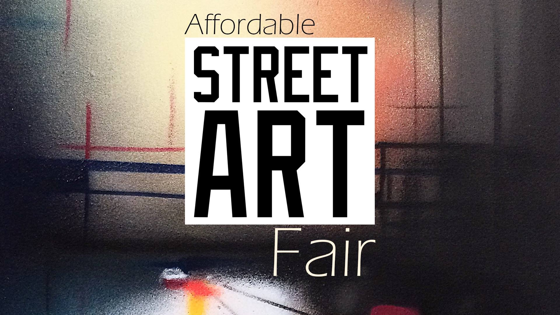 Affordable Street Art Fair Cardiff