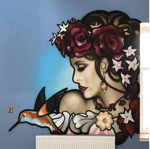 Mural Cardiff