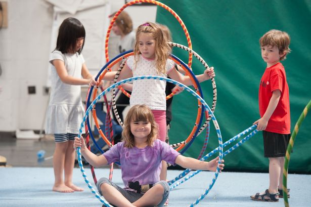 Run away and join the circus wiht no fit state! Parties for 11-16 year olds include a session on the flying trapeze, not for the faint hearted :)  https://www.nofitstate.org/en/