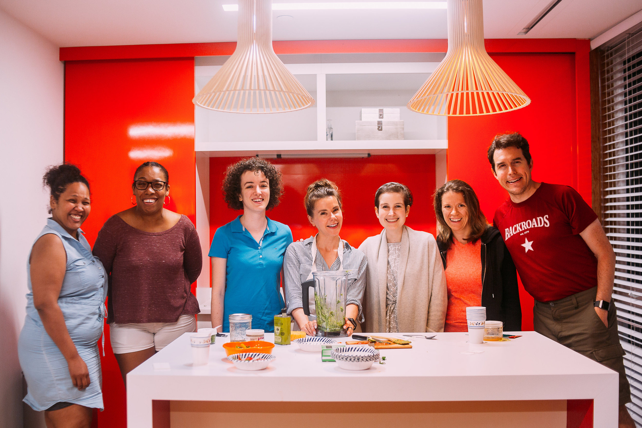 Plate Next Door partners with Cobu to provide culture-focused cooking lessons for residents, everything from sushi to dumplings to Caribbean jerk chicken!