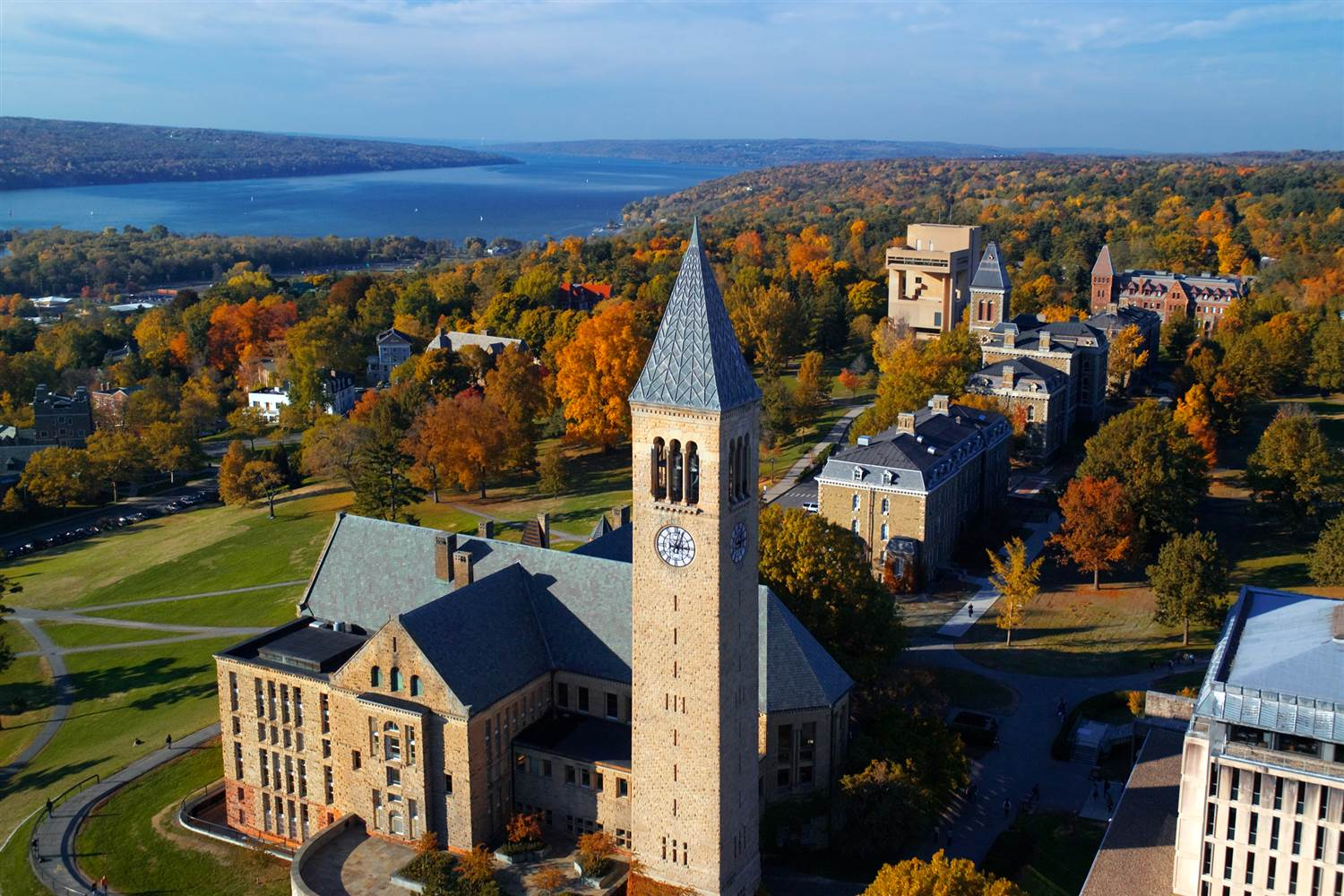 Cornell University Campus (Image may be subject to copyright)