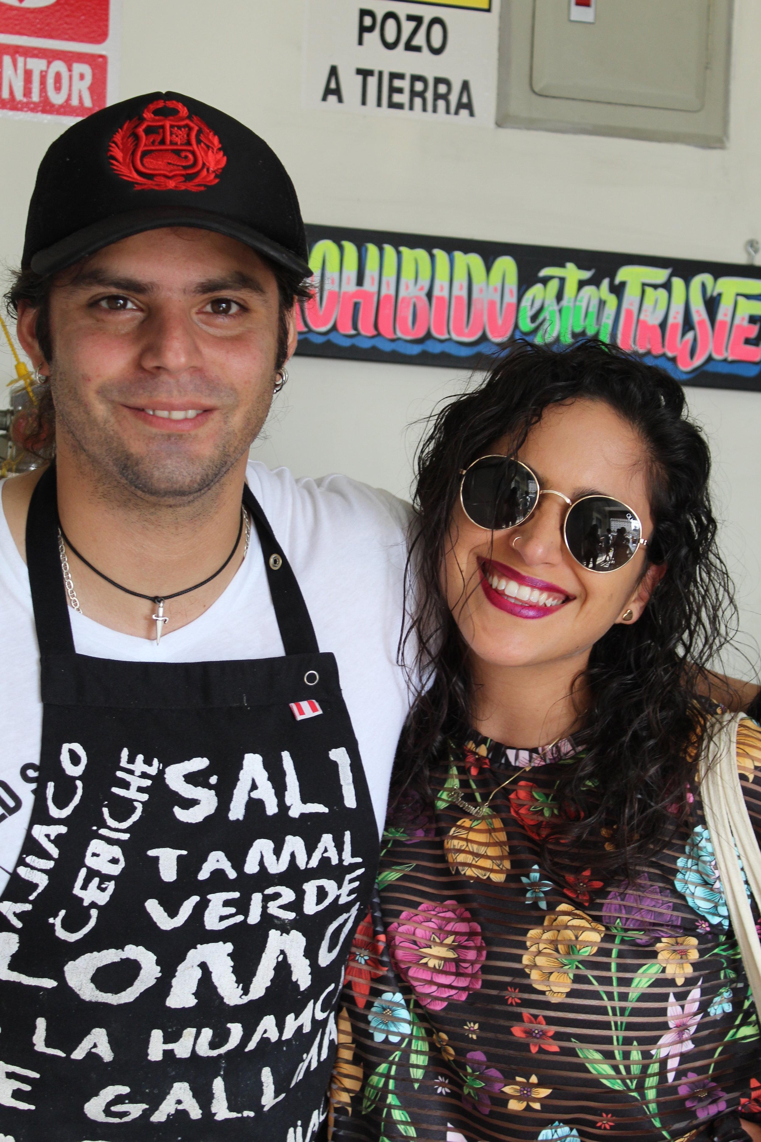 Con el Chef Gabiel Osorio