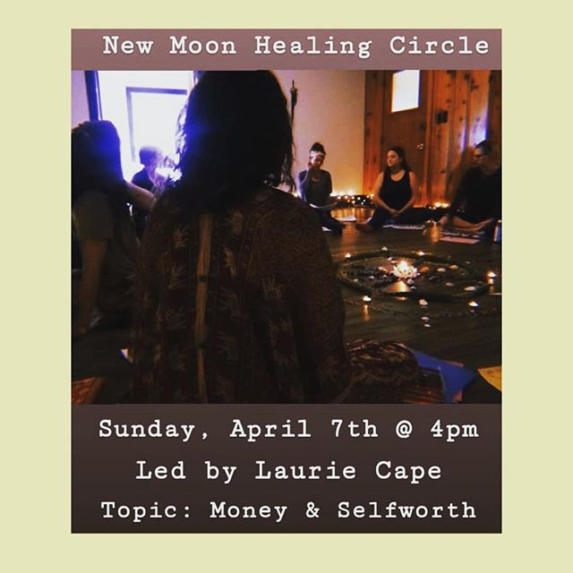 Excited to partner with @sacredyogahealingarts for the New Moon Healing Circle April 7 @ 4pm. Join us as we explore our complex relationship to money and self-worth in a supportive healing community 🌙 . . . . . #wehealtogether #selflove #selfcare #healing #growth #peace #love #newmoon #lifecoachforwomen #lifecoach #therapists #therapist #coach #therapy #bestofbg #buylocalbg #bowlinggreenky #bowlinggreen #bgky #healingcircle