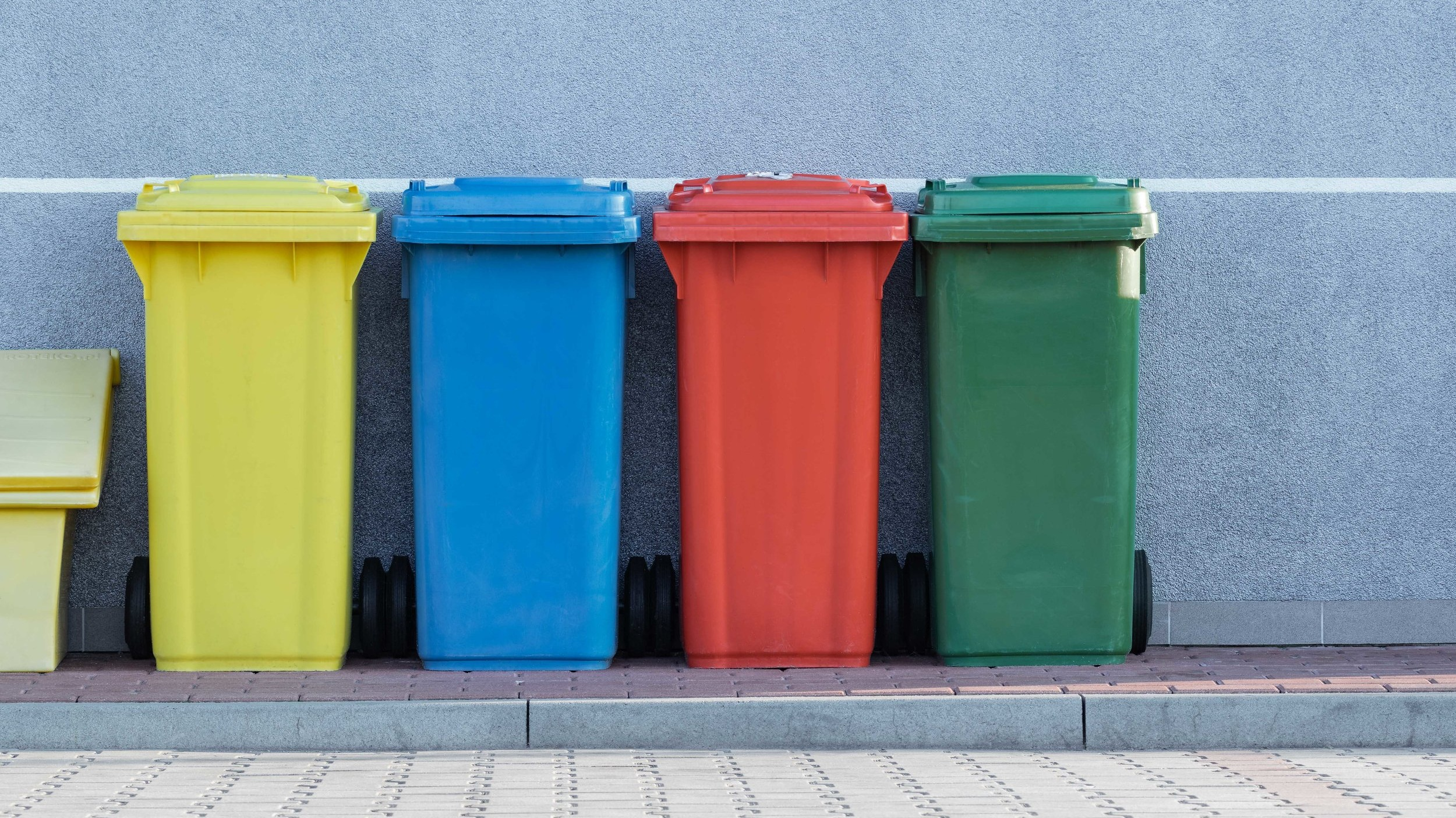 3. BE ORGANIZED ABOUT TRASH -