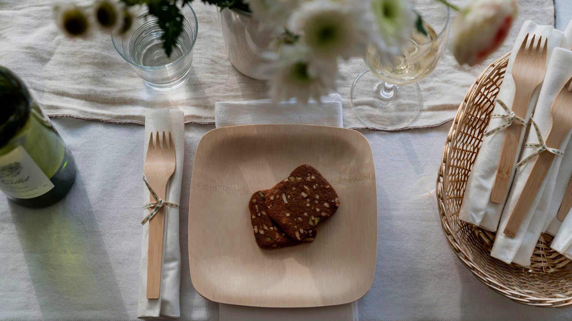 """- people are often deterred by the """"Look"""" of sustainable tableware. How do you address that concern?"""