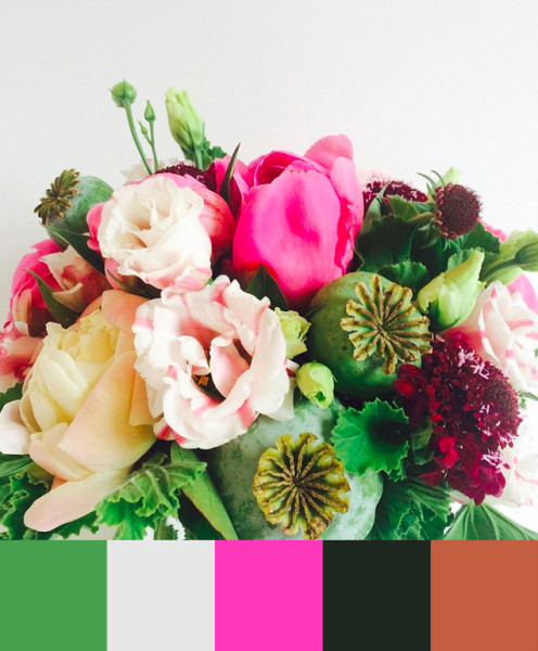 Summer Color Inspiration and Trends 2015