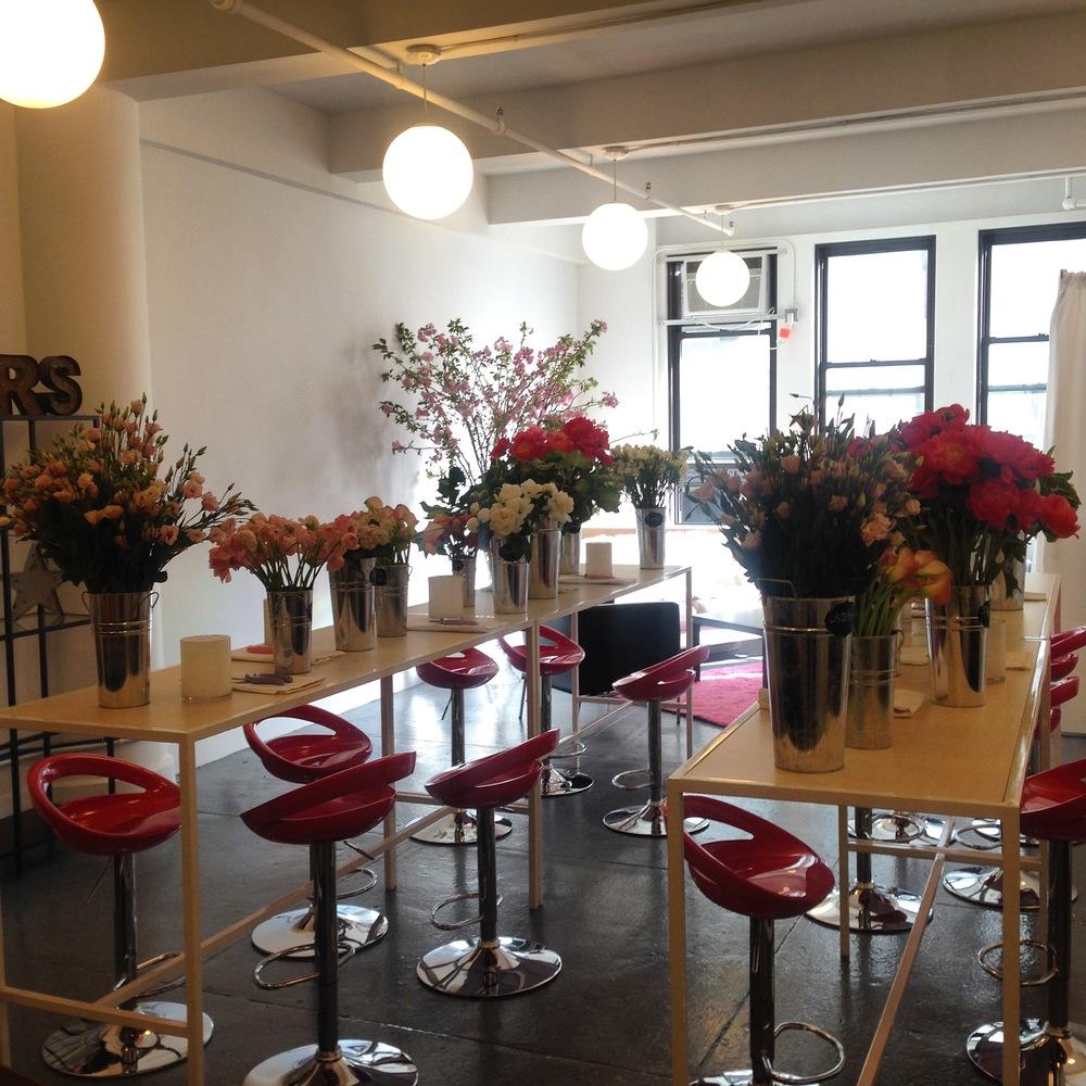 Private Floral Design Class 2015: