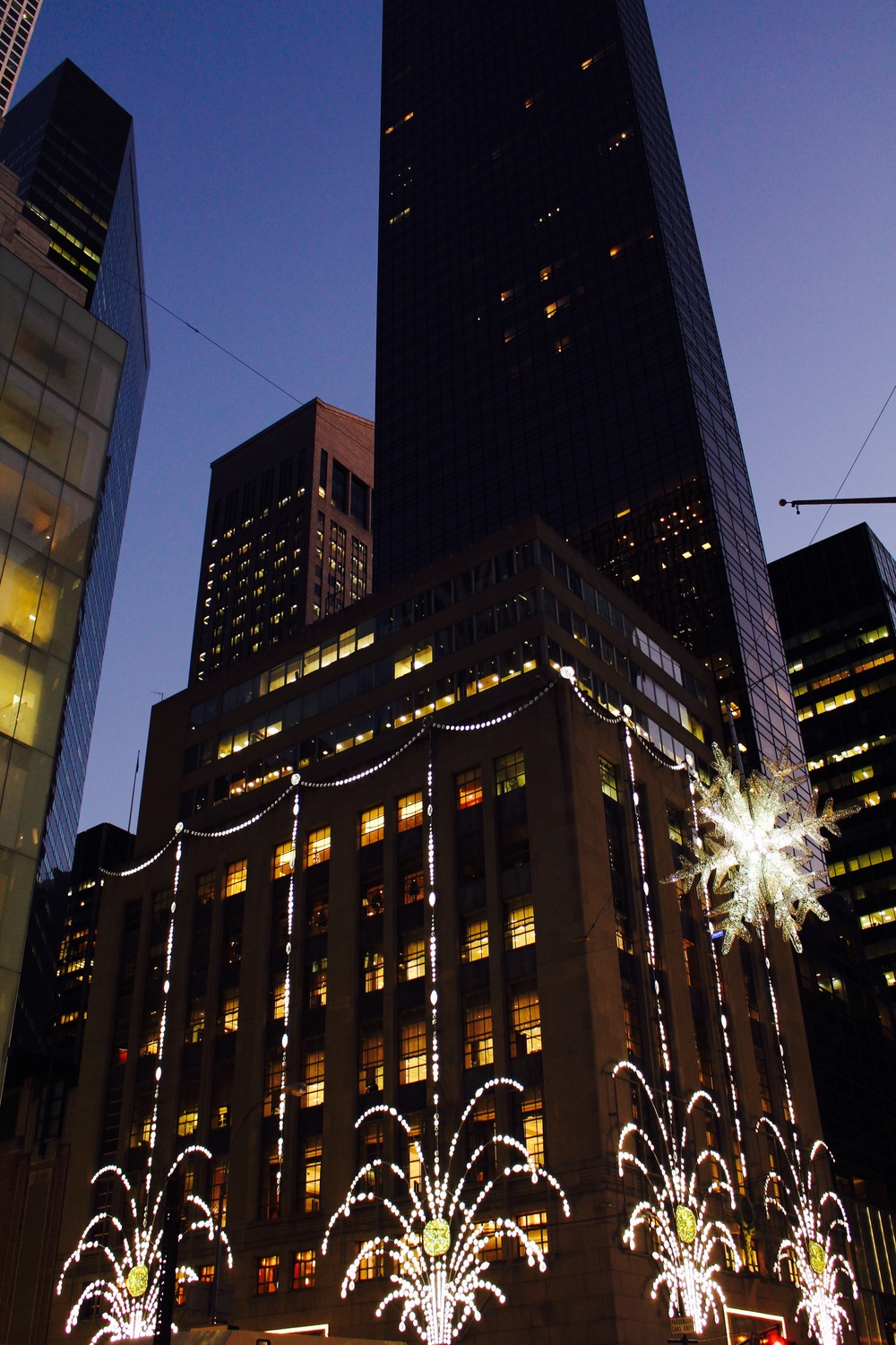 Fifth Avenue during the Holidays