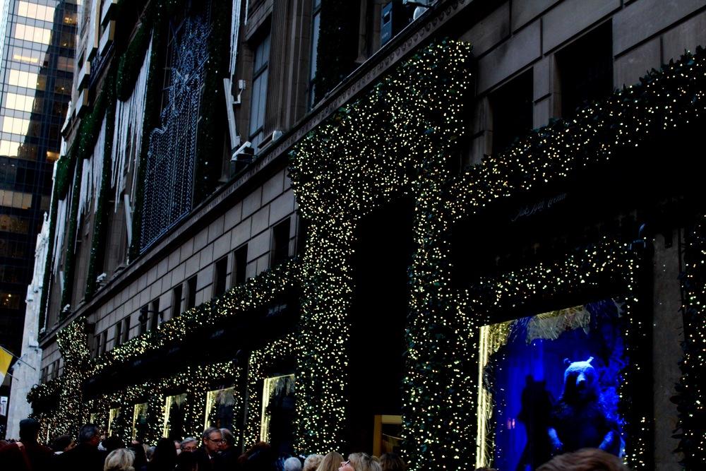 Saks Fifth Avenue Holiday Windows