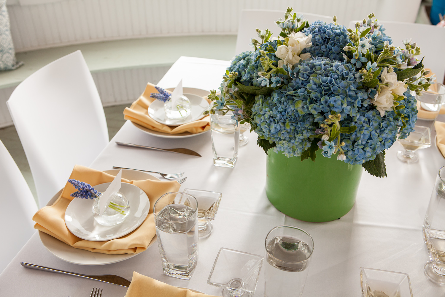 Mix Florals with Traditional Elements