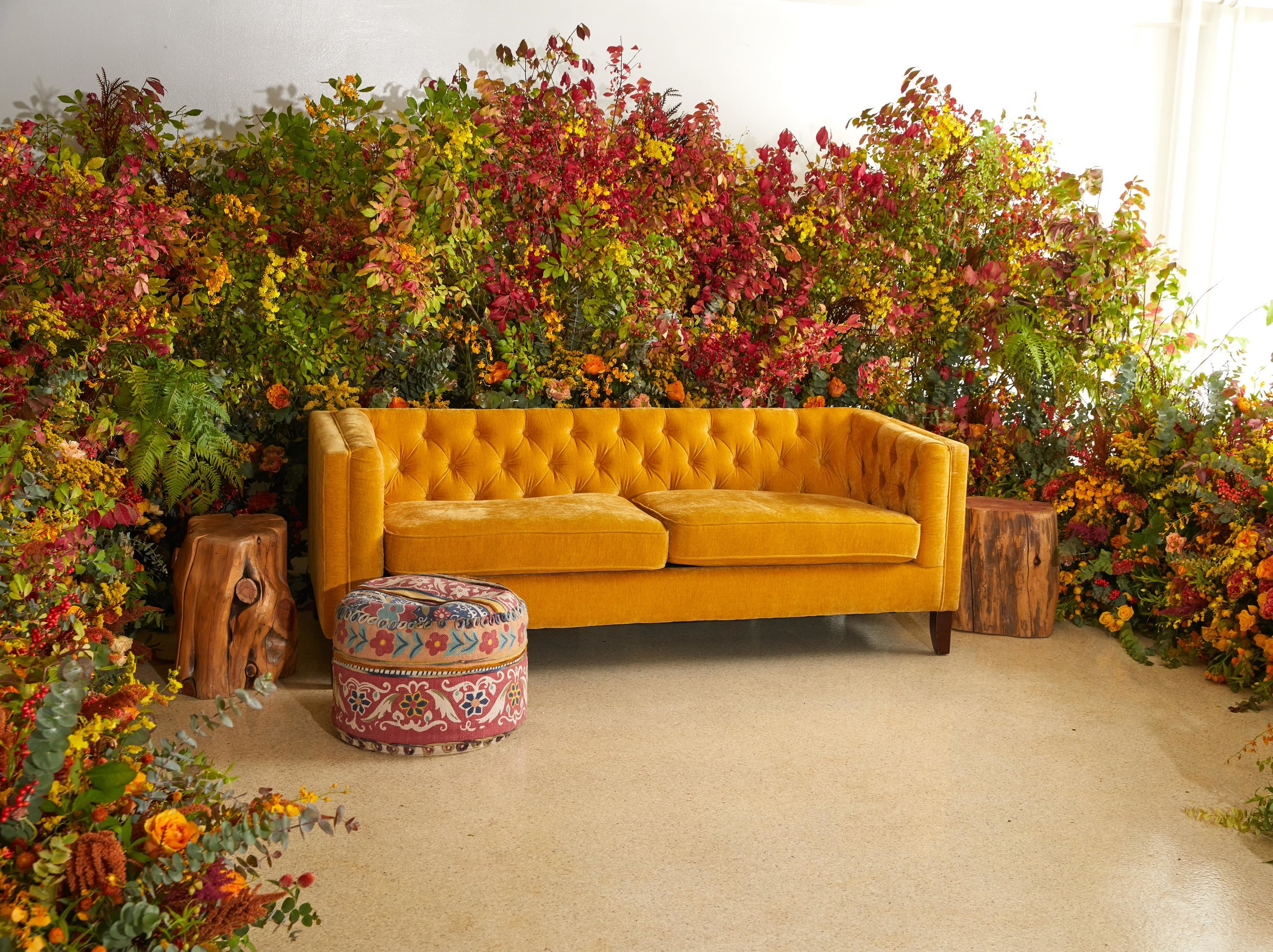 Fall Lounge Installation- B Floral