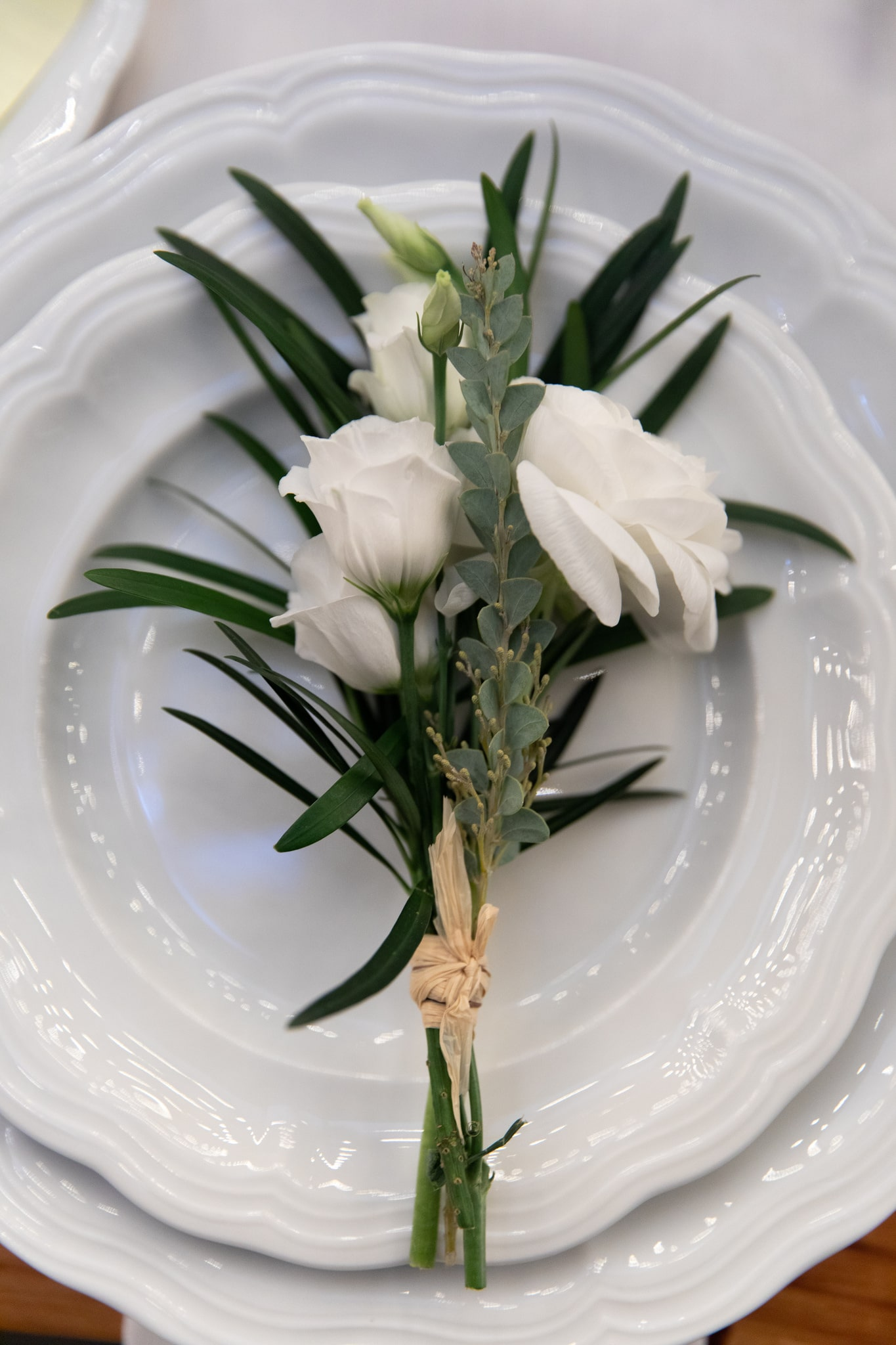 Floral Plate Accents- B Floral