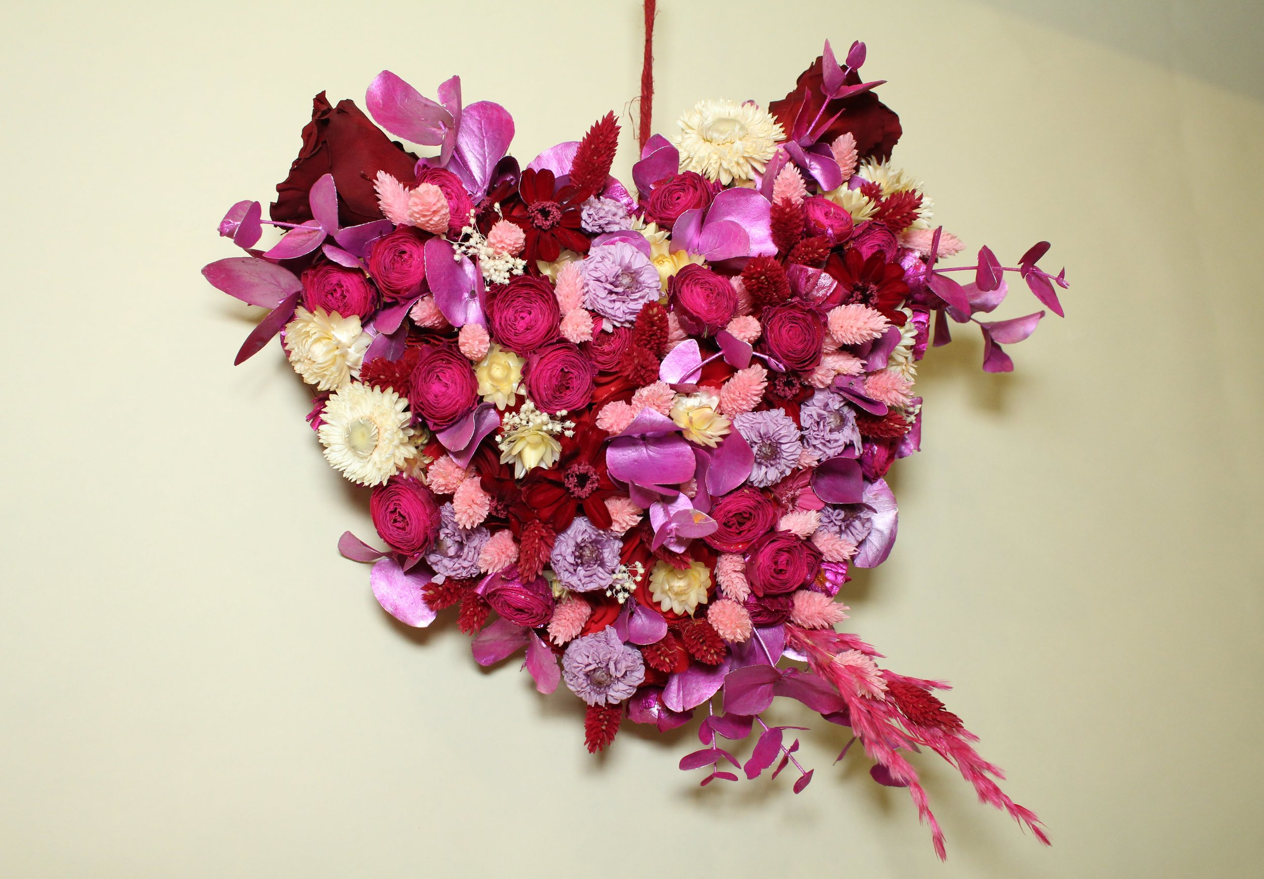 Copy of VALENTINE'S DAY WREATHS - B FLORAL