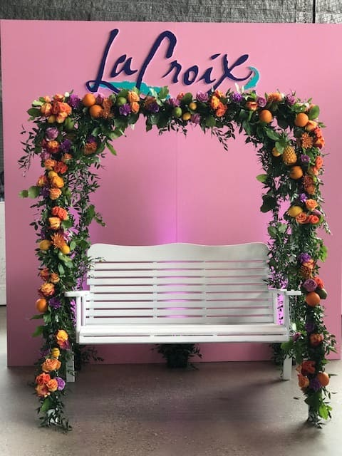 USA TODAY WINE & FOOD EXPERIENCE LACROIX - B FLORAL