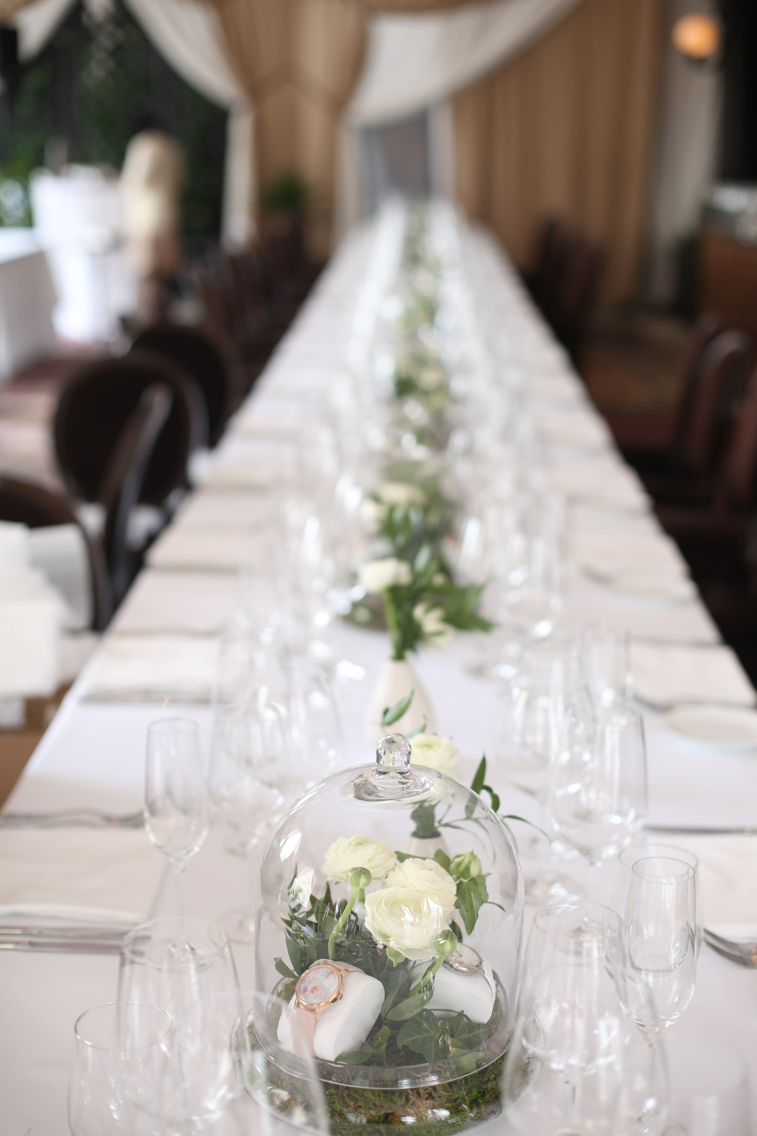 Bell Jar Tablescape- B Floral
