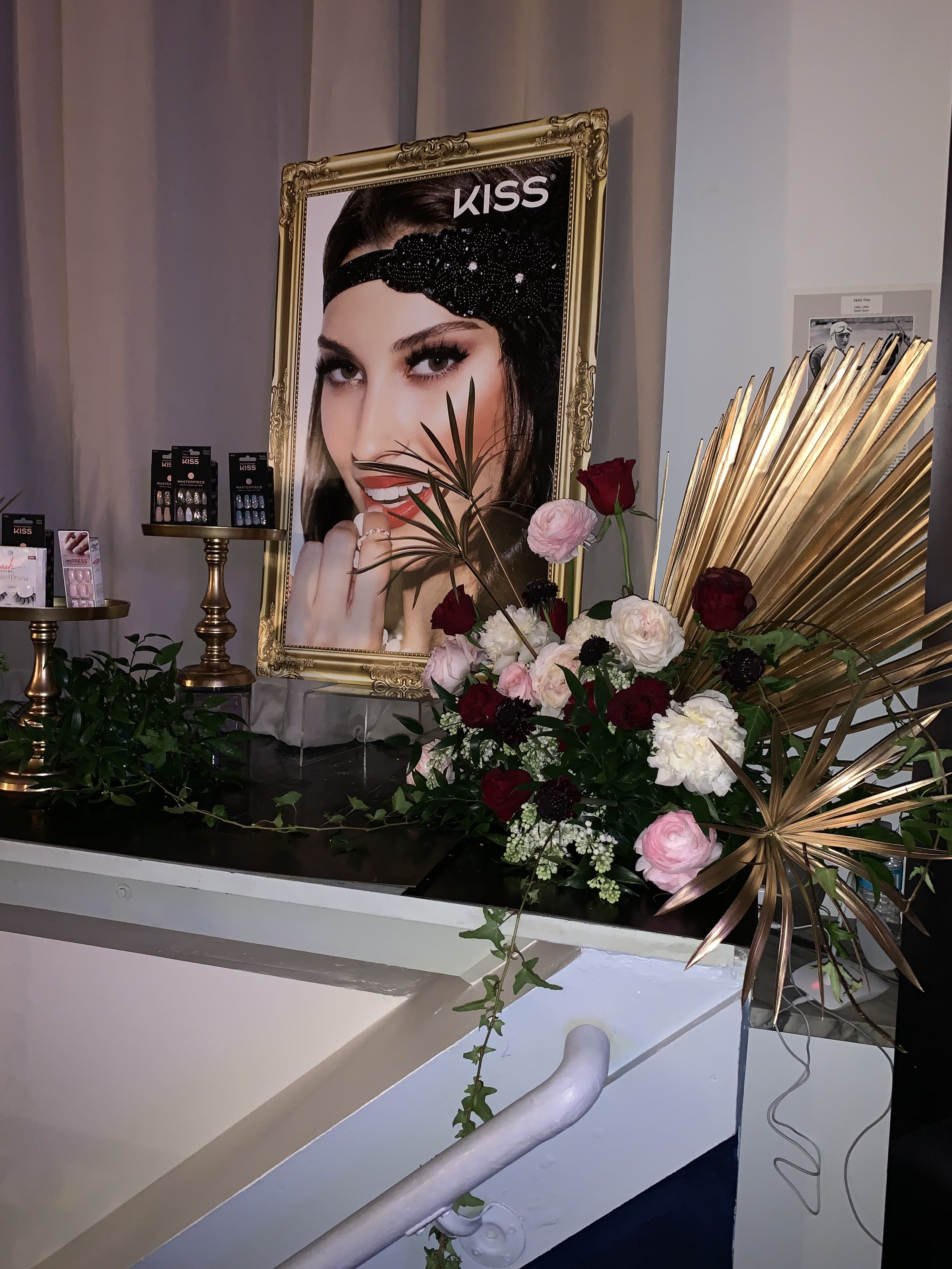 KISS Products Product Display- B Floral