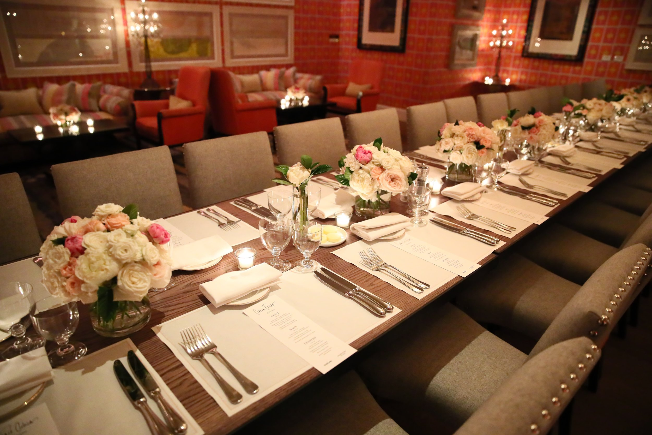 InStyle Magazine Badass Women Dinner Arrangements- B Floral