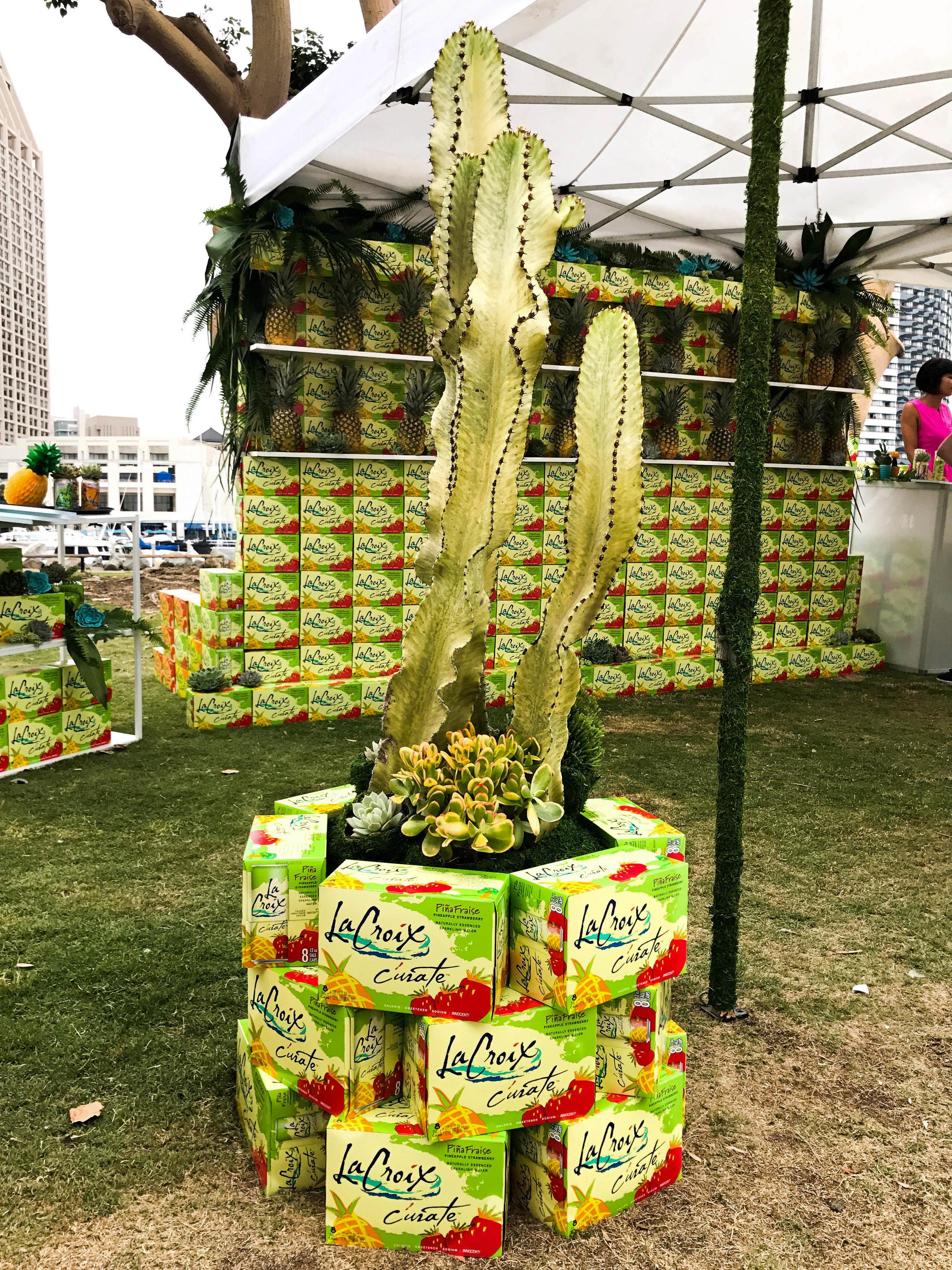 LACROIX - LATIN FOOD FEST - SAN DIEGO - B FLORAL