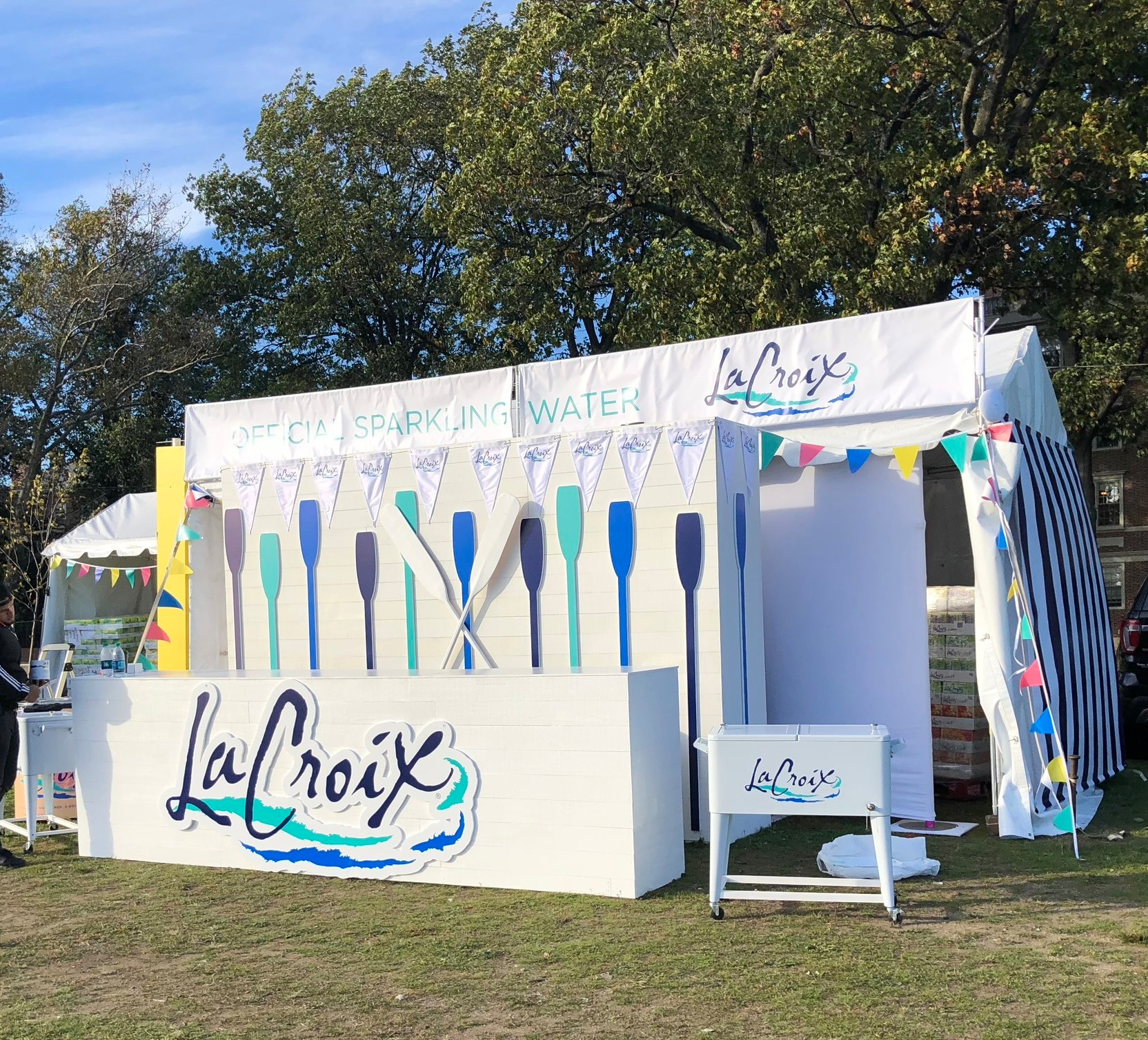 LACROIX SPARKLING WATER - HEAD OF THE CHARLES REGATTA - BOSTON - B FLORAL