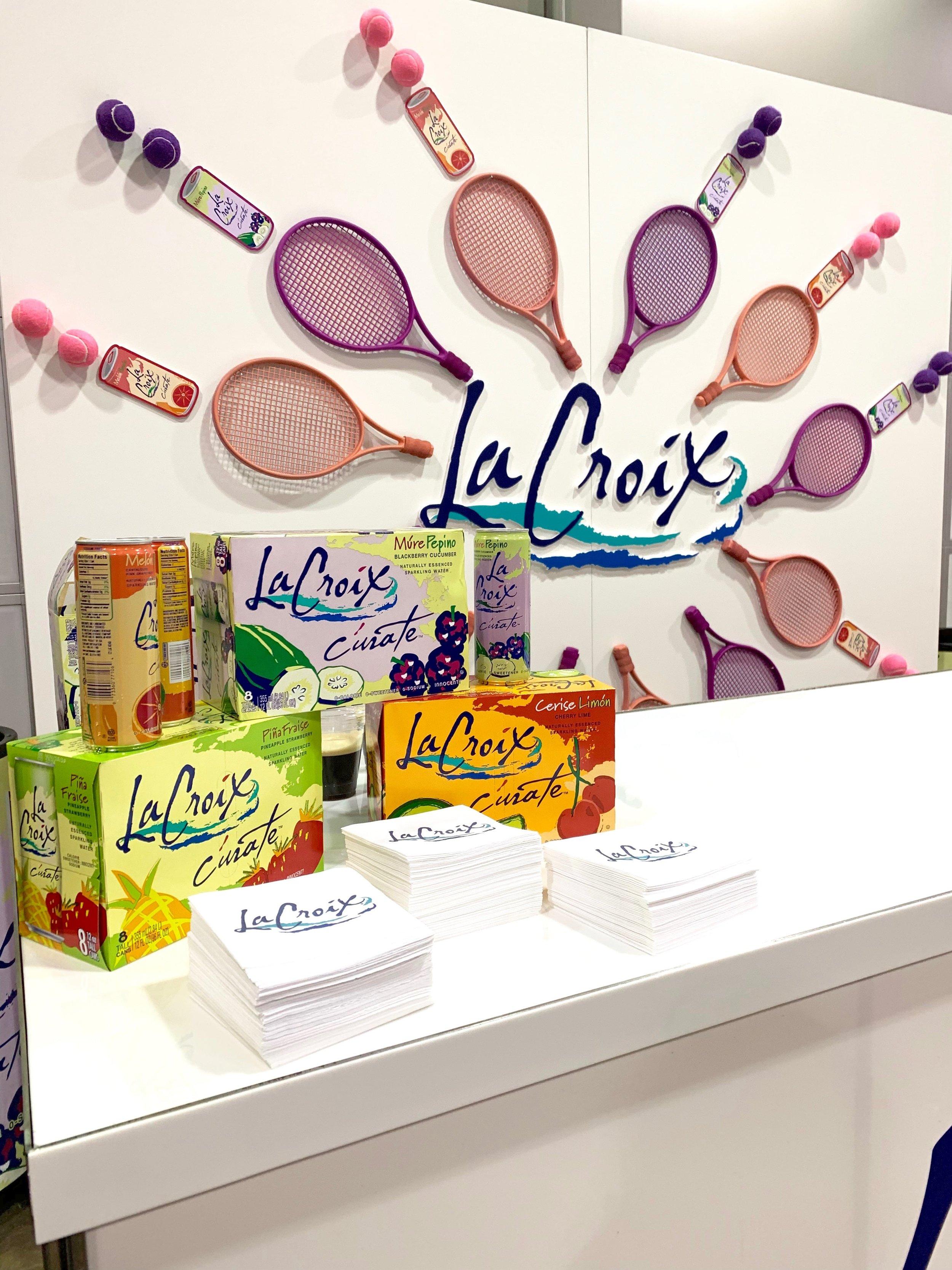 LaCroix Branded Tennis Racquet Bar- B Floral